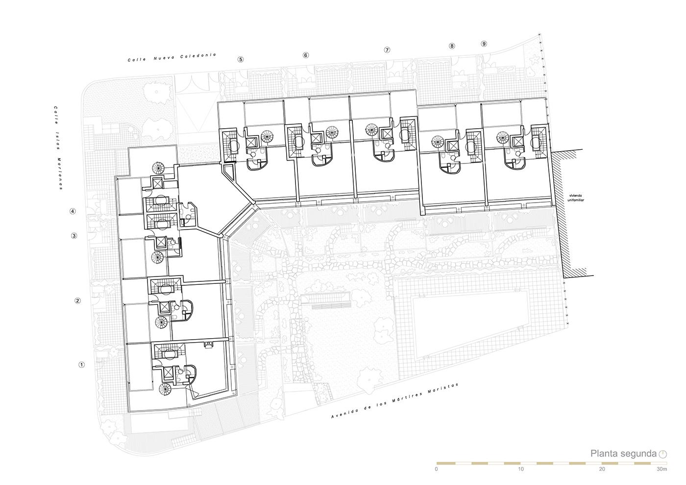 Edificio de viviendas en la dehesa de la villa madrid on - Maroto e ibanez ...