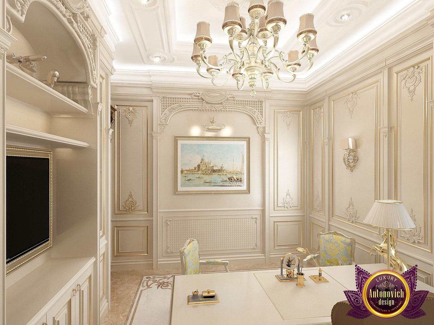Luxury Office Interior Design By Katrina Antonovich On Behance