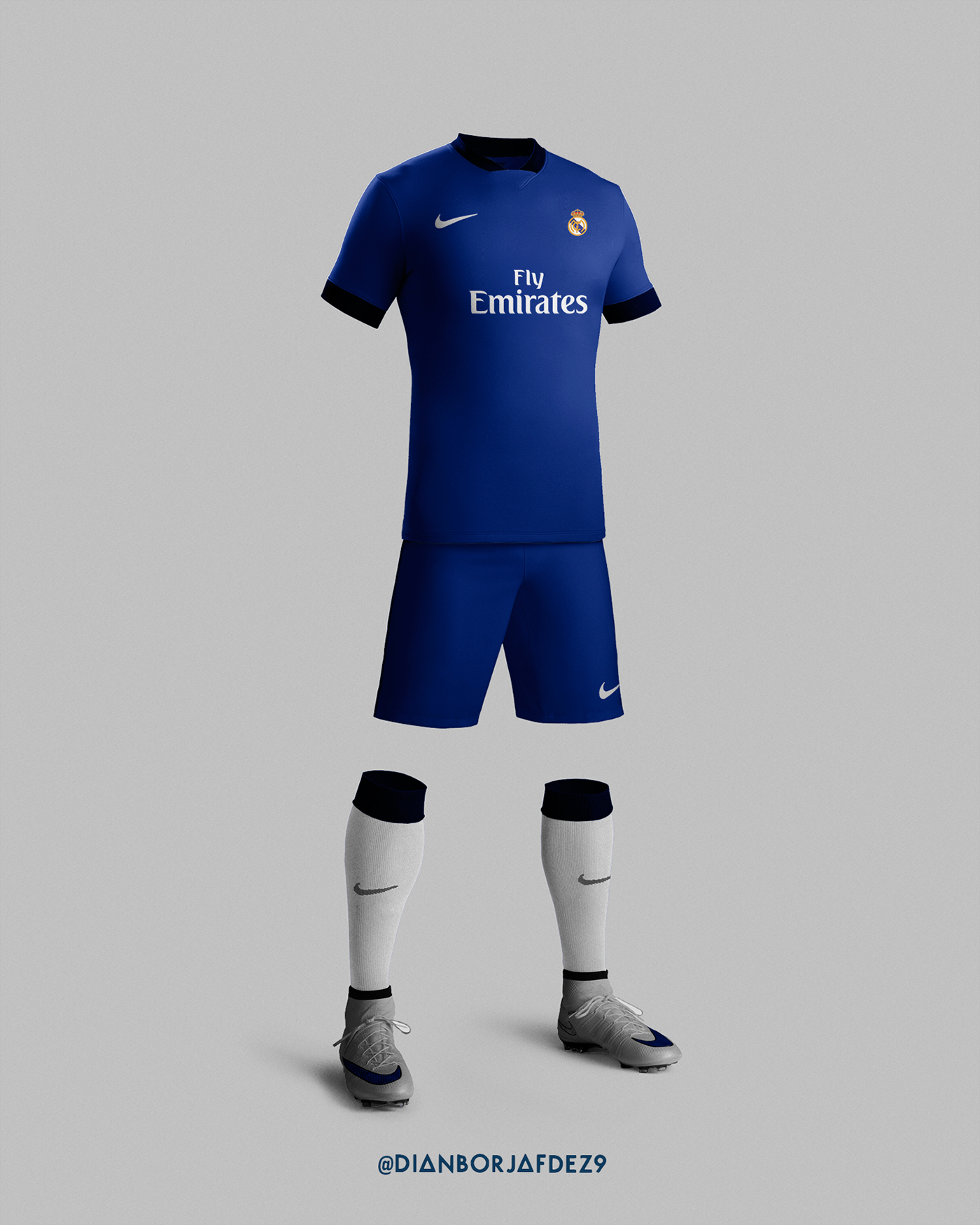 separation shoes dd6de 31b48 Real Madrid Kit 2017/18 with Nike (Concept) on Behance