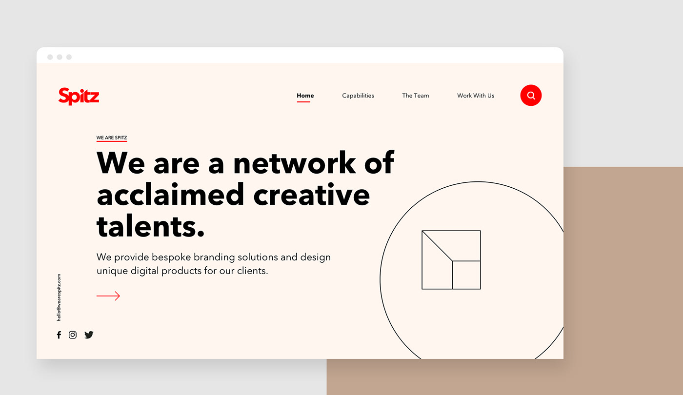 branding  Website user interface Platform network minimal agency UI ux User Interaction