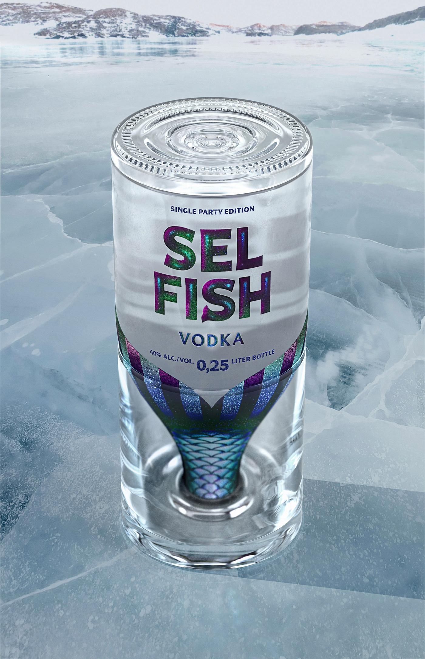 selfish Vodka drink spirit alone Single party lonely