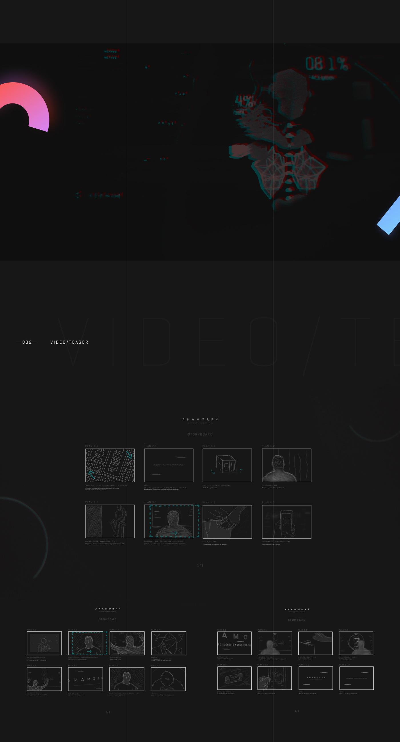 art direction  installation anamorph identity kinect interactive animation