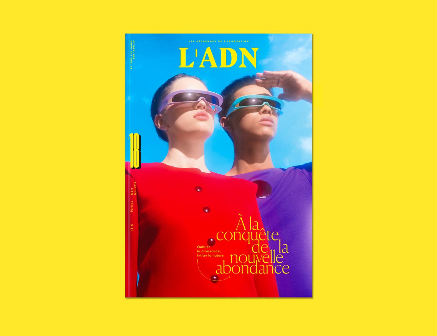 L'adn editorial grid Layout Violaine&jeremy Julia&vincent vincent girardot peter singer type magazine