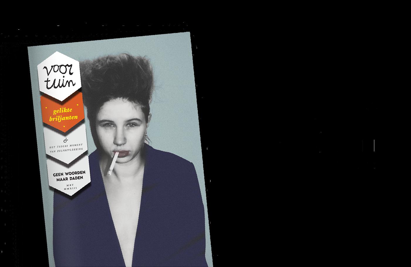 voortuin magazine Zine  Indiemag stack award issue edition