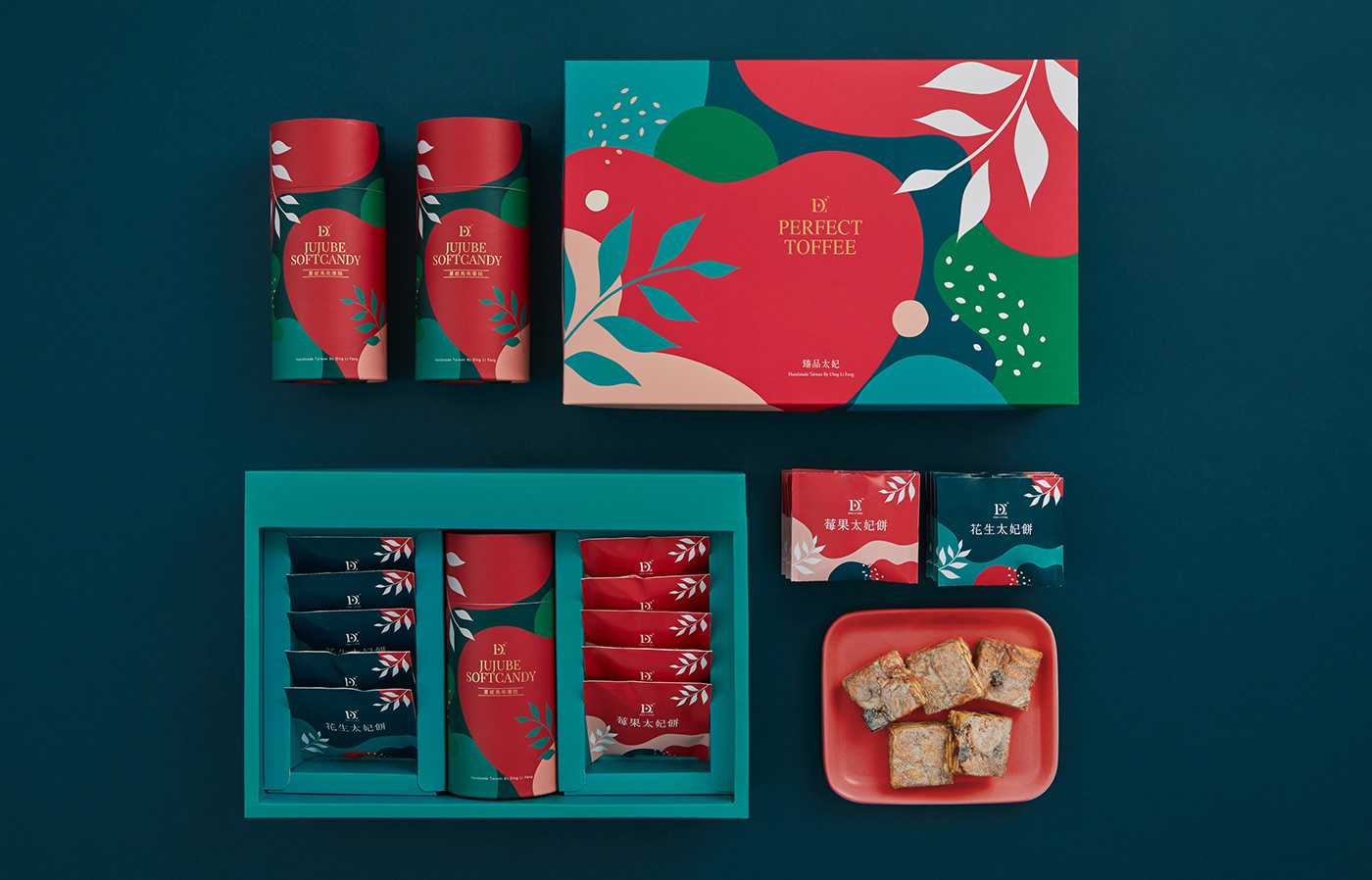 branding  graphic Packaging package cookie 包裝 包裝設計 餅乾 插畫