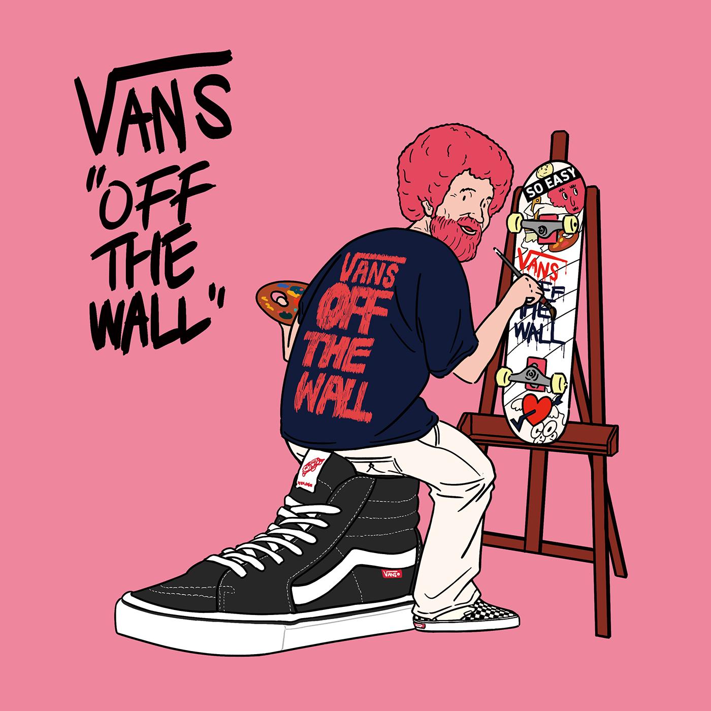 c0b7124515 VANS OFF THE WALL - vans artist on Behance
