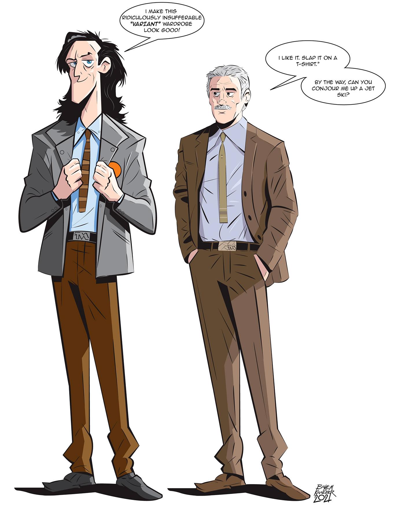 Character design  characters comics ILLUSTRATION  Loki marvel mobius