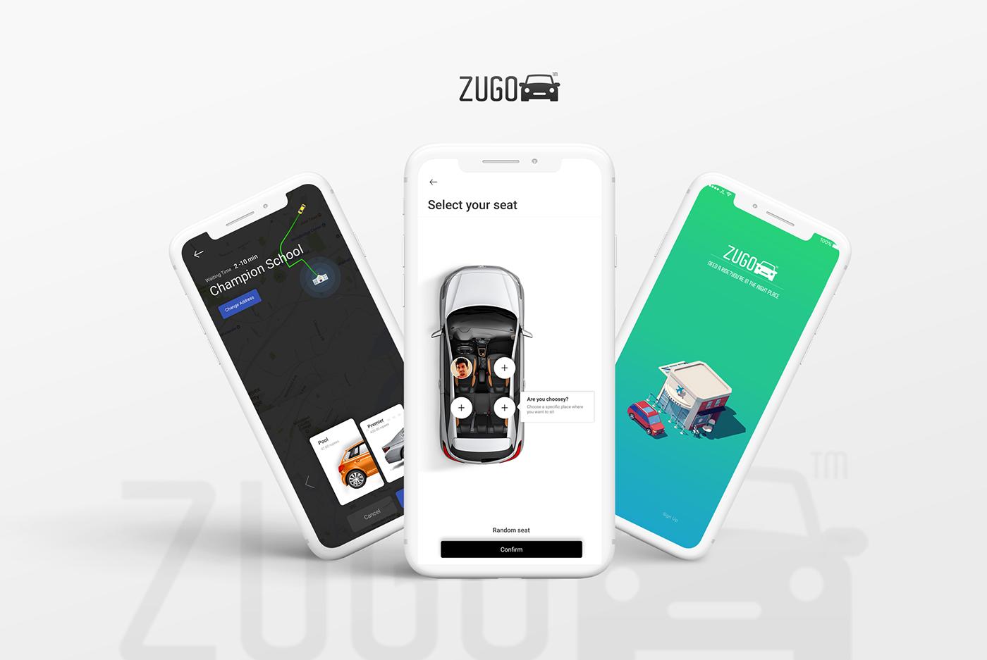 Custom software solution ride booking platform Software Solution easy ride booking booking app Creative Design ux/ui app design Application Design