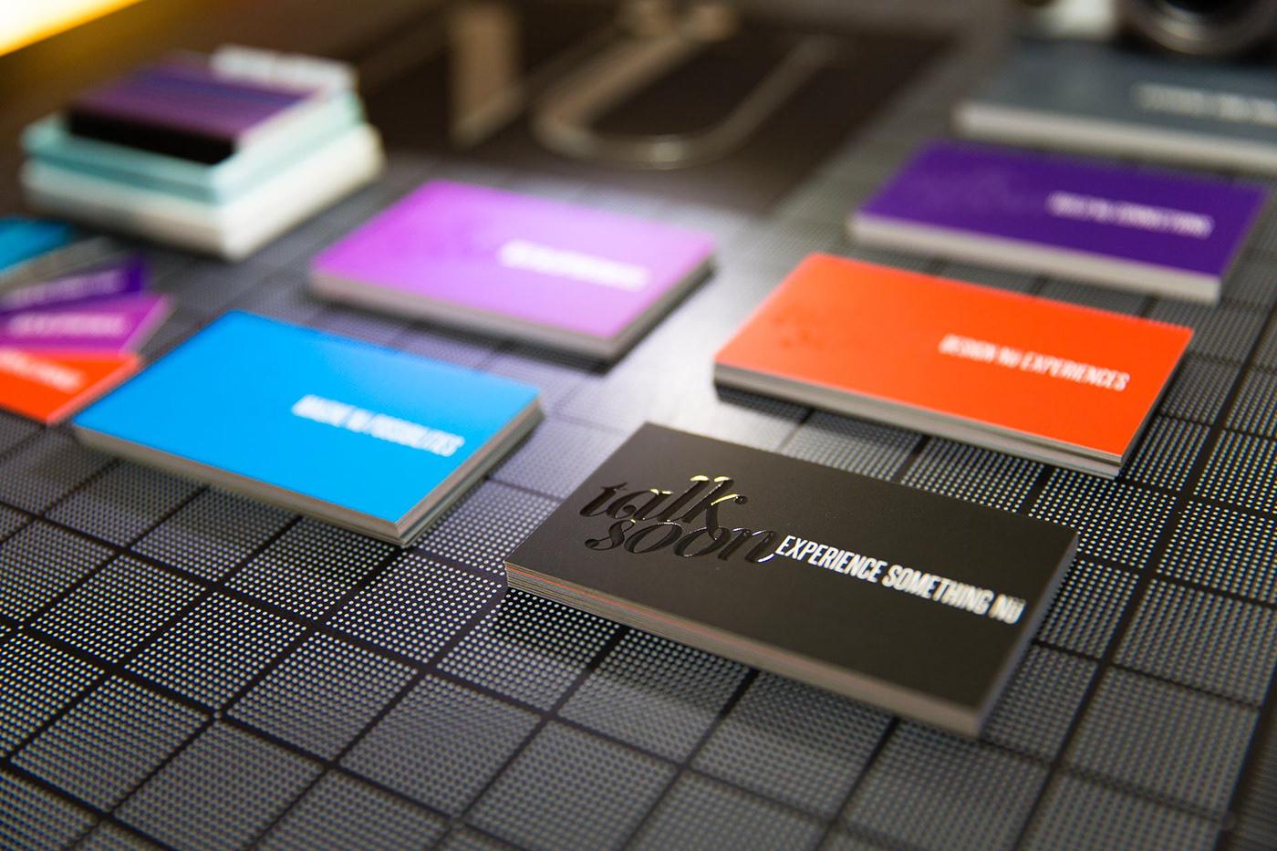new branding  logo Stationery design agency nupolitan