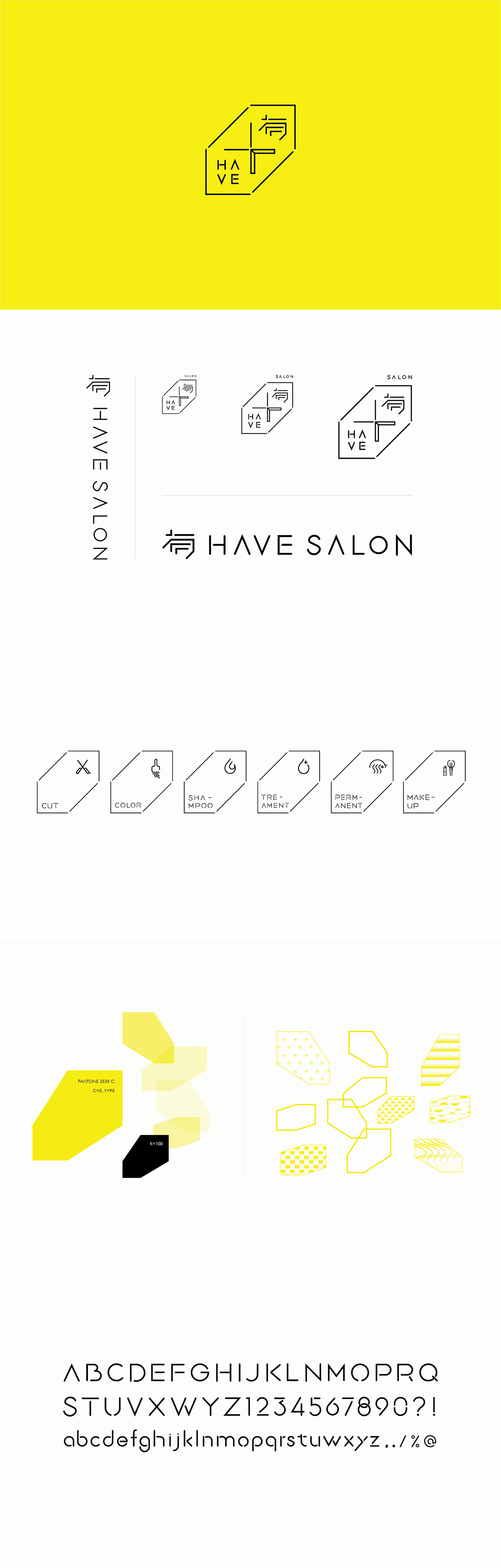 高質感的15個美髮名片設計欣賞