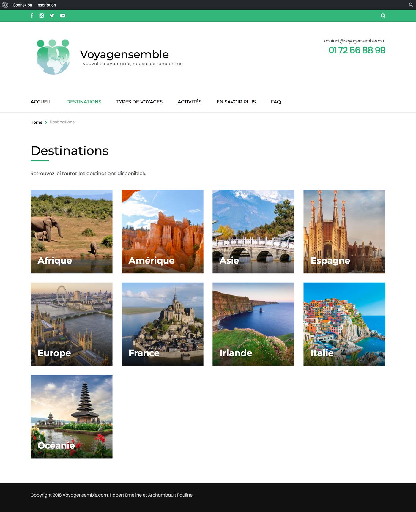 Site web - Voyagensemble