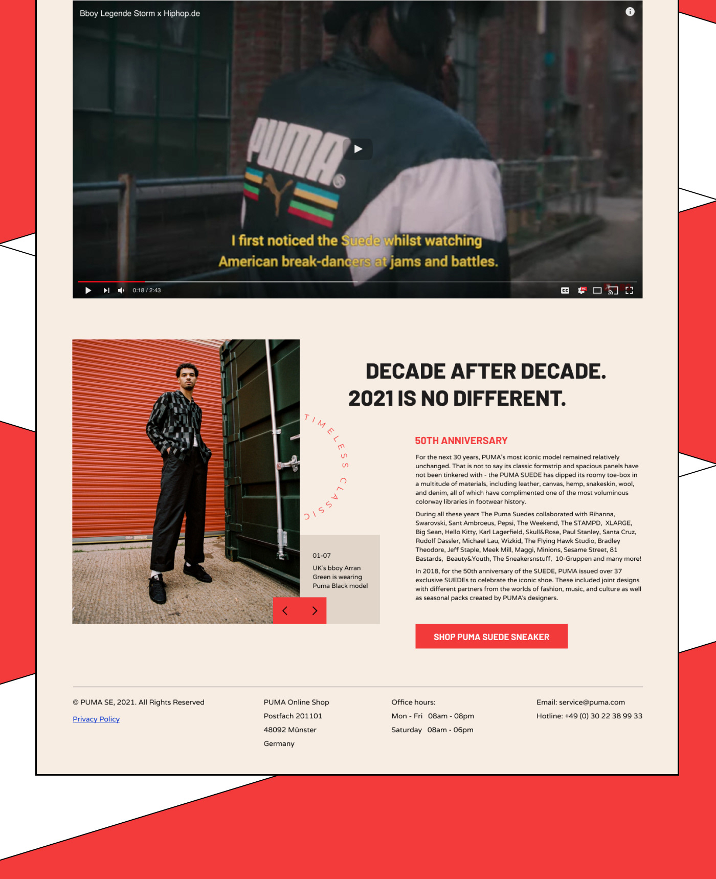 Image may contain: poster, clothing and screenshot