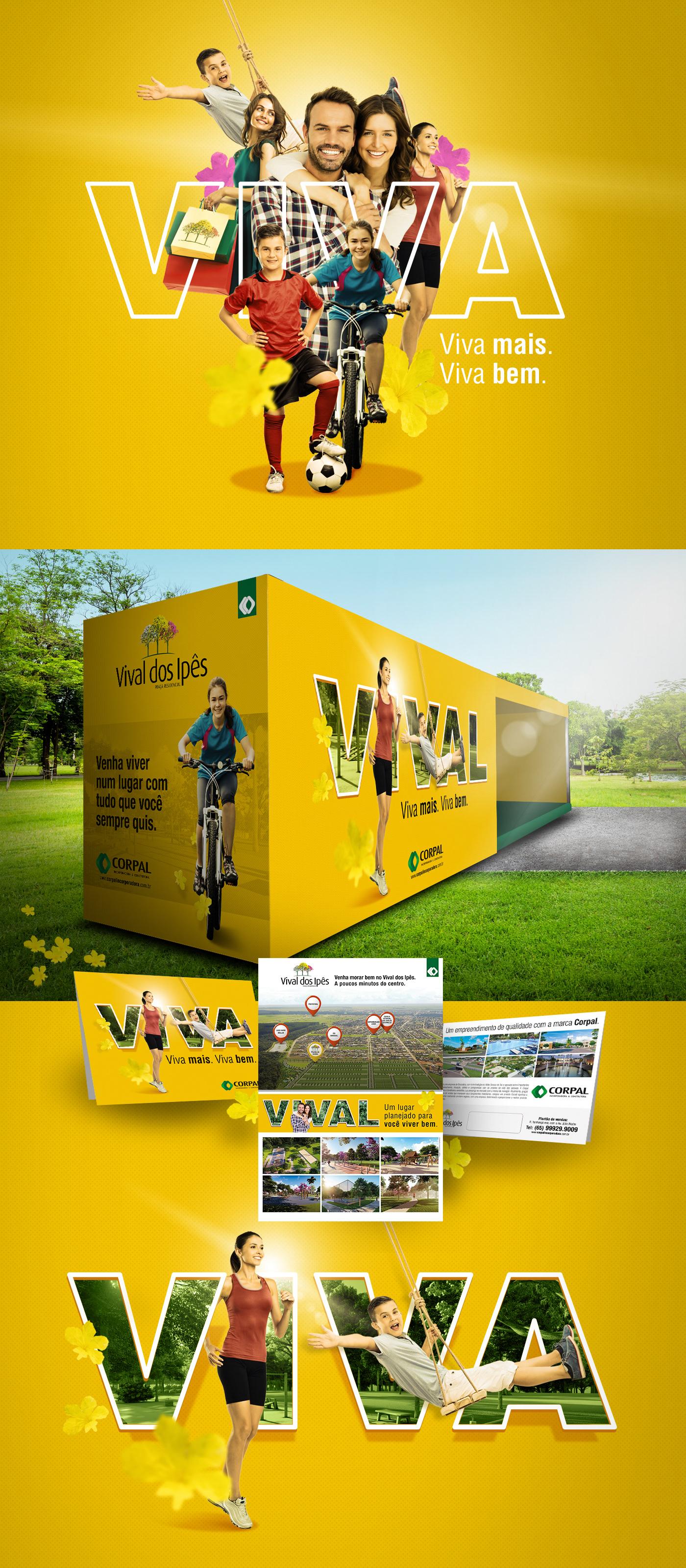 publicidade design Propaganda Web Empreendimento Imobiliário creative Corpore colagem graphicdesign Mboitatá