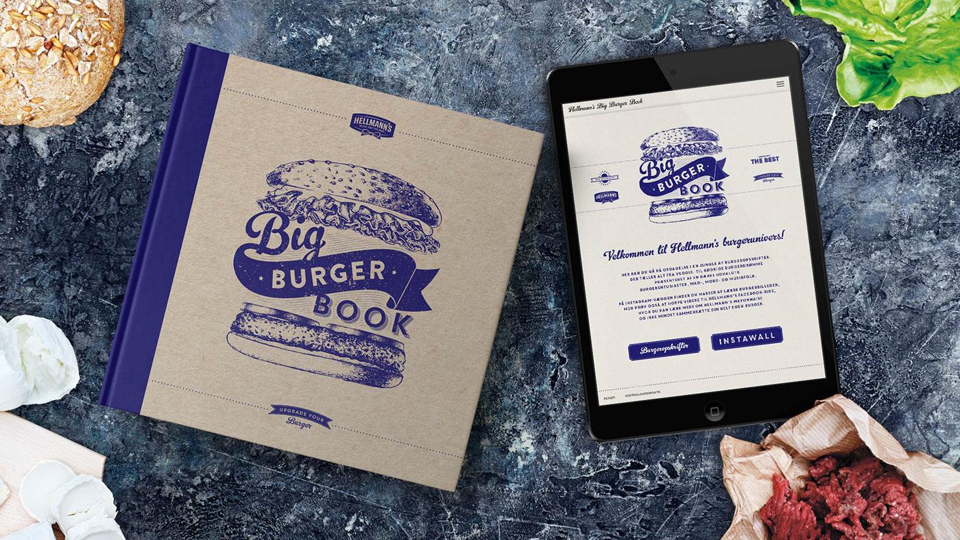 hellmann's big burger book true danish denmark Food