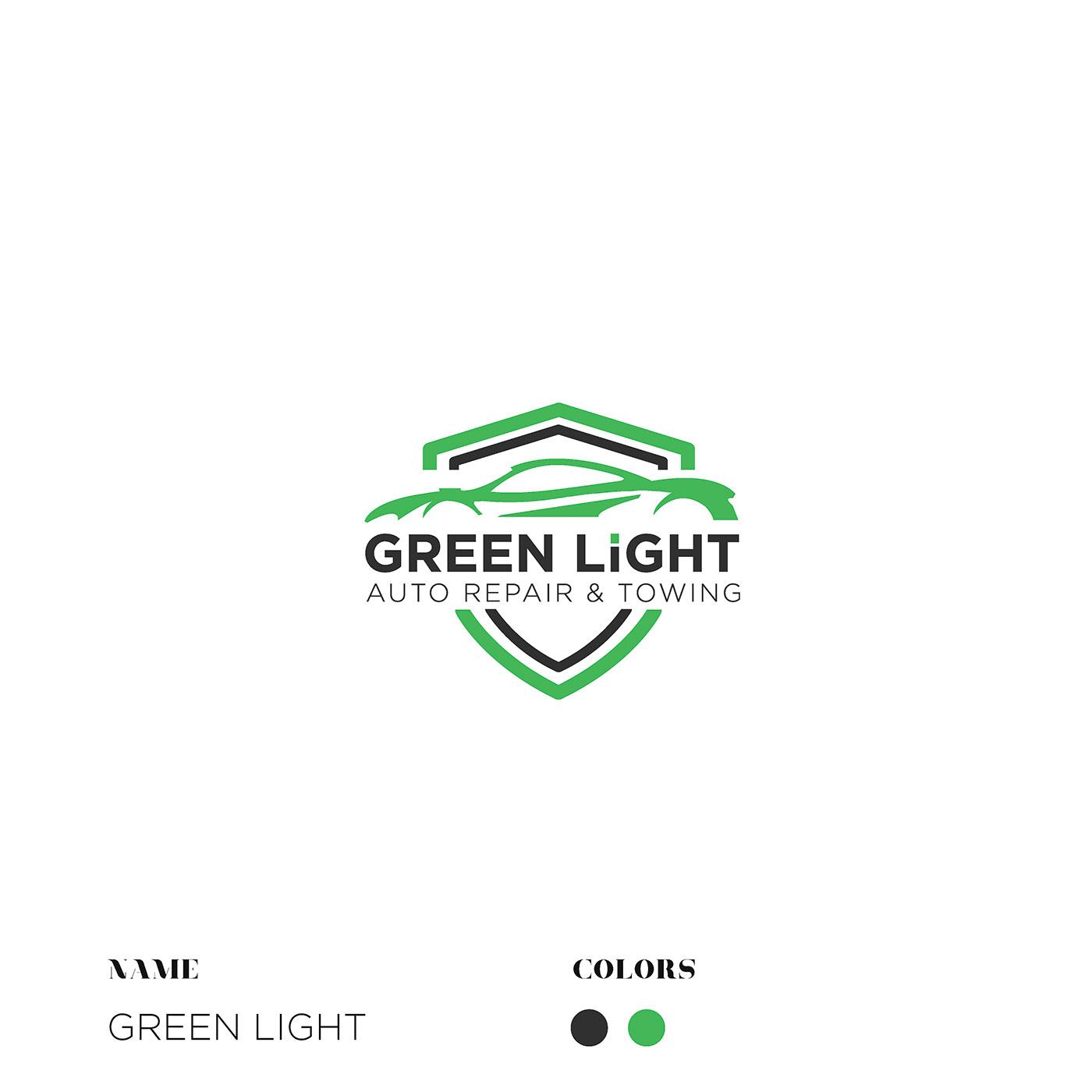 logo brand logogolio black Style minimal desgn ideas car science
