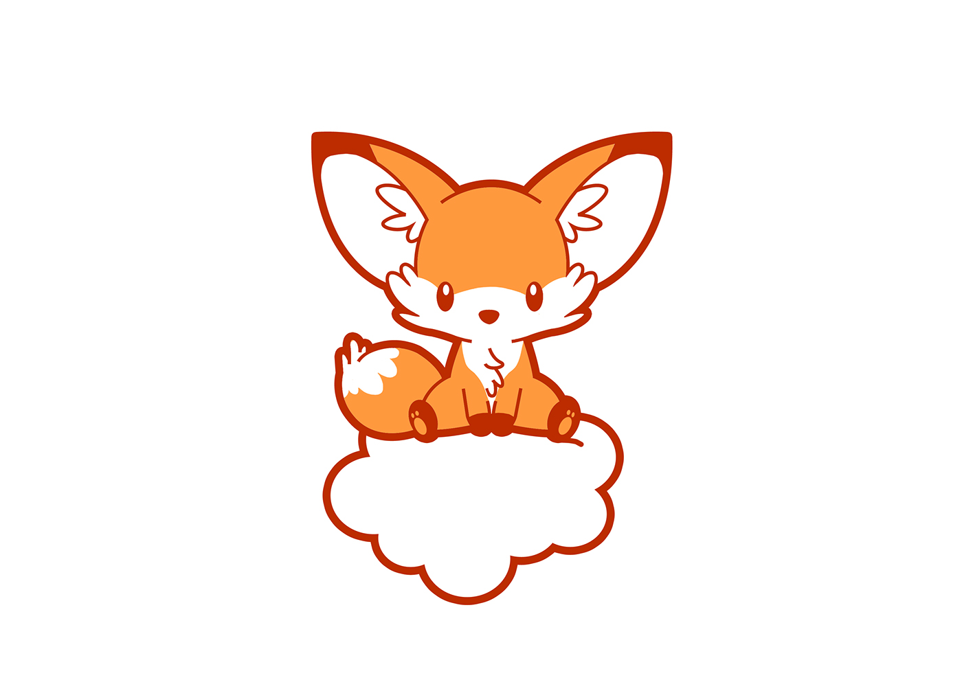 Fox Chibi Cartoon On Behance