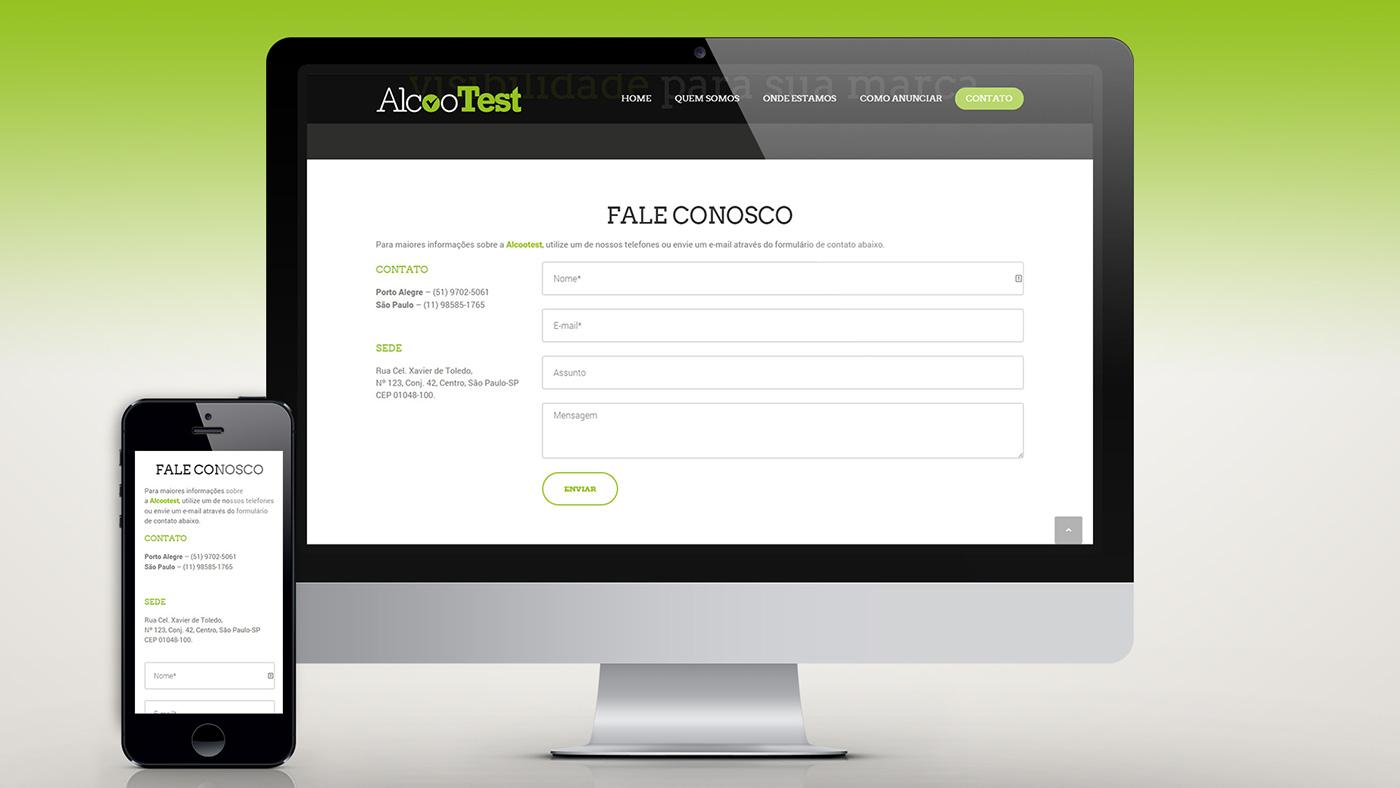 Website Alcootest