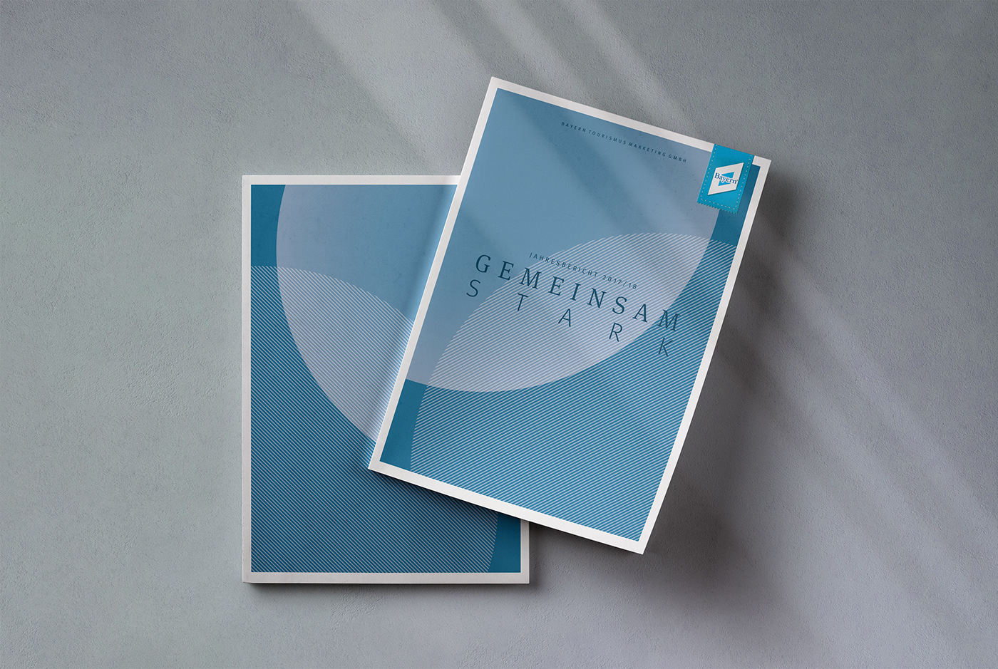 annual report Bavaria Bayern business ILLUSTRATION  Layout print