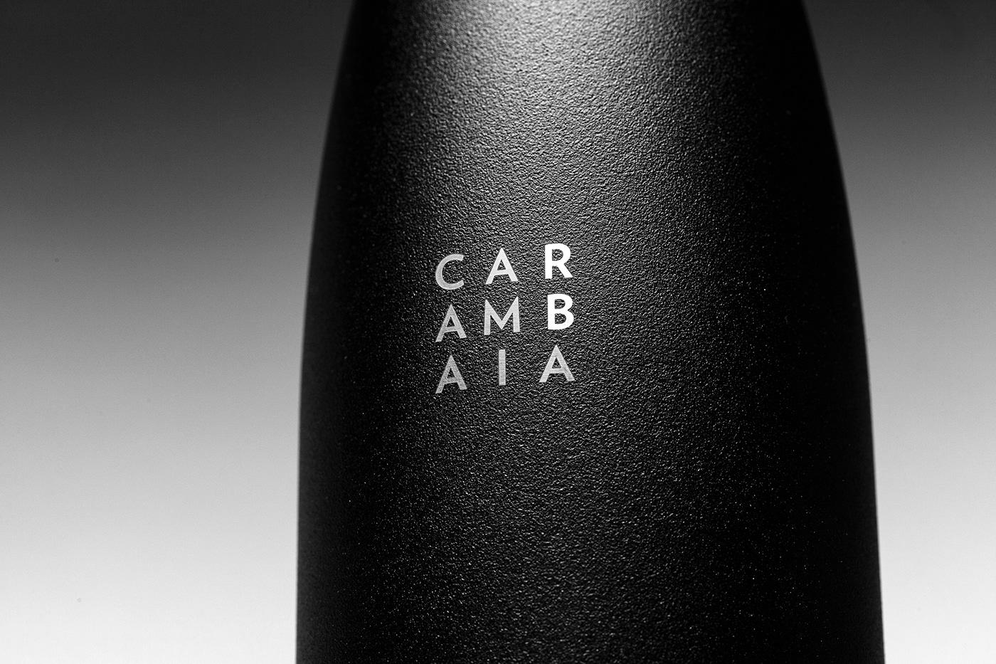 Logotype on bottle