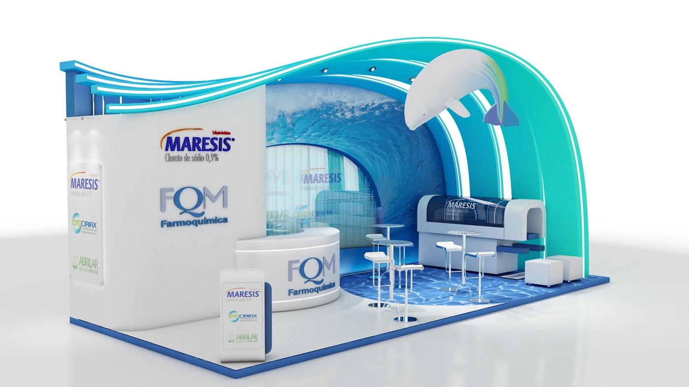 Exhibition Stand Design Behance : Stand m on behance