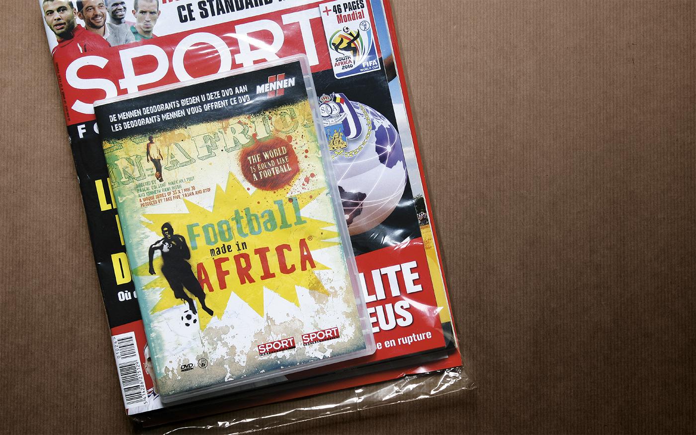 sport hand-drawn football africa Webdesign