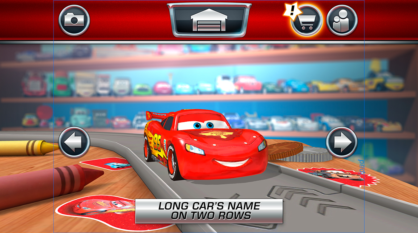 Cars Daredevil Garage Ios On Behance