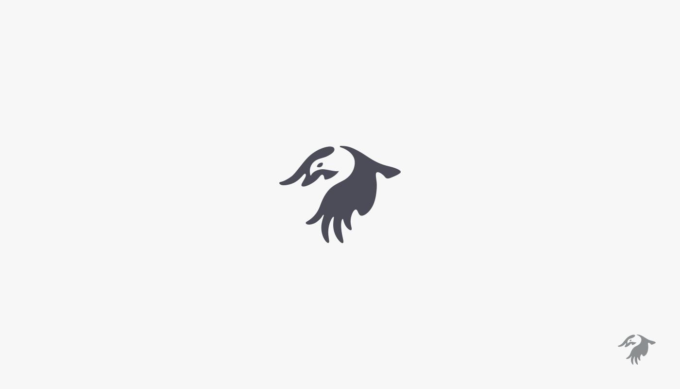 mark logo bird eagle FOX et DNA helix peafowl peacock globe Low Poly myrkott pangolin colorful