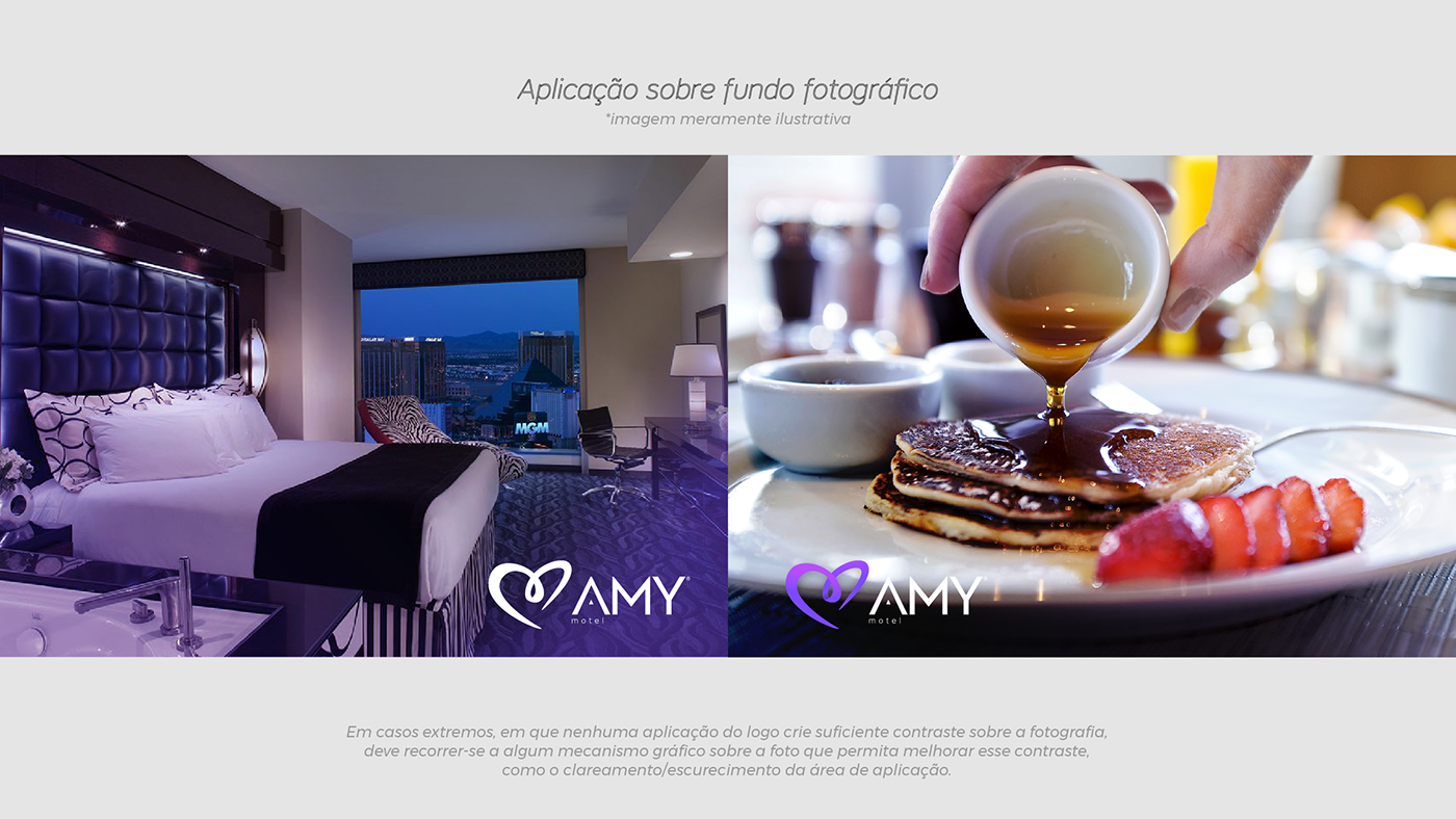 motel identidadevisual Logomarca