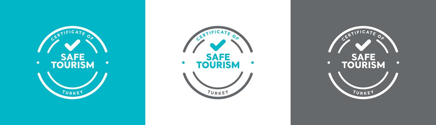 ArtDirection branding  commercial Event Keyvisual logo safe safetourism tourism Turkey