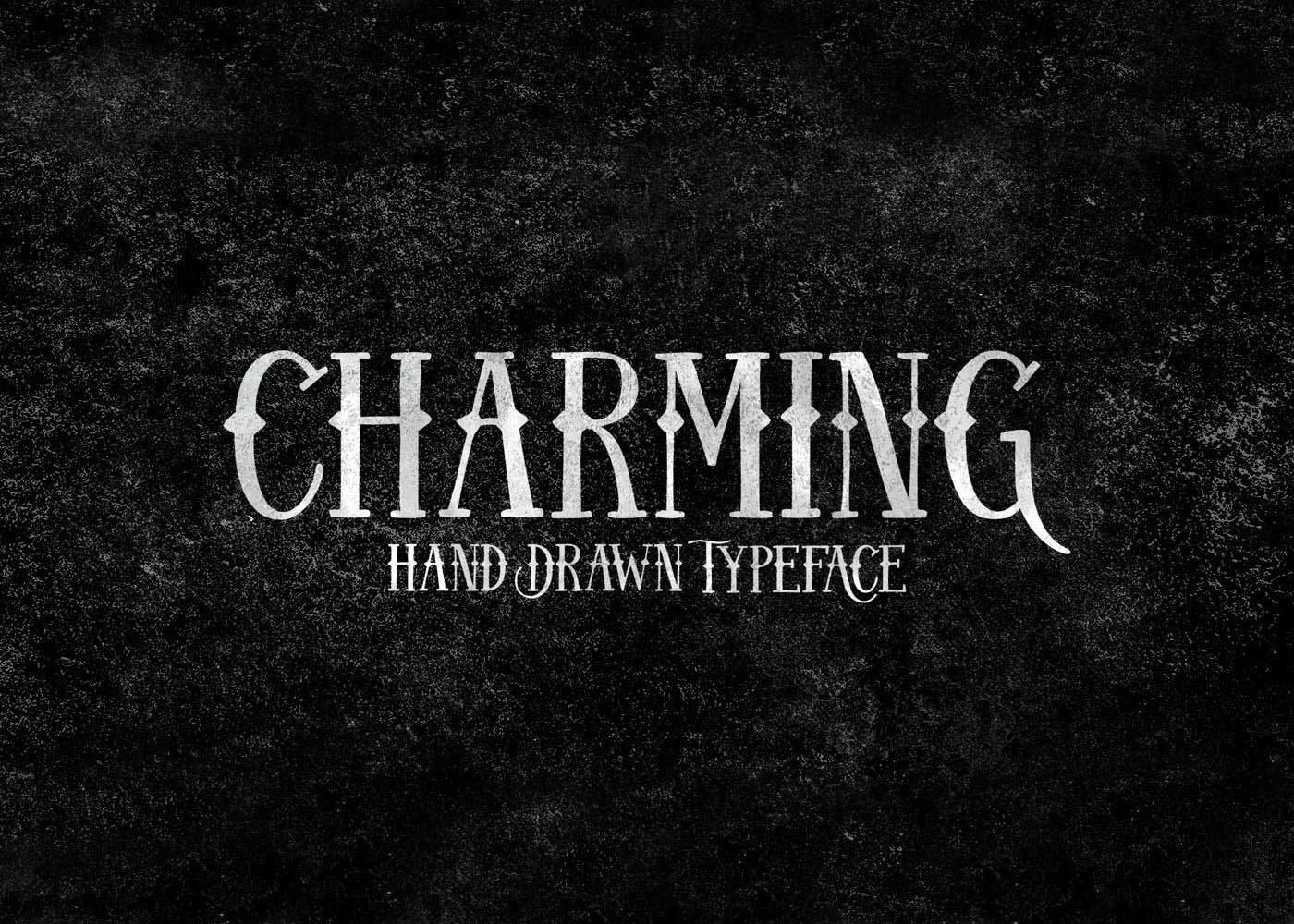 font Typeface free vintage american folk Script hand drawn handmade Display