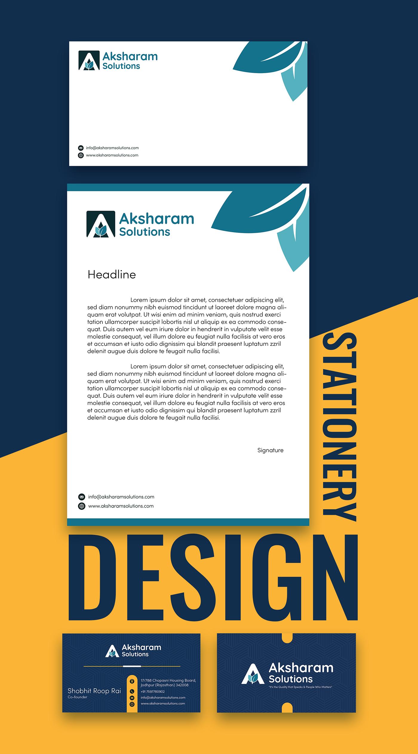 businesscarddesign graphicdesign stationerydesign visitingCardDesign