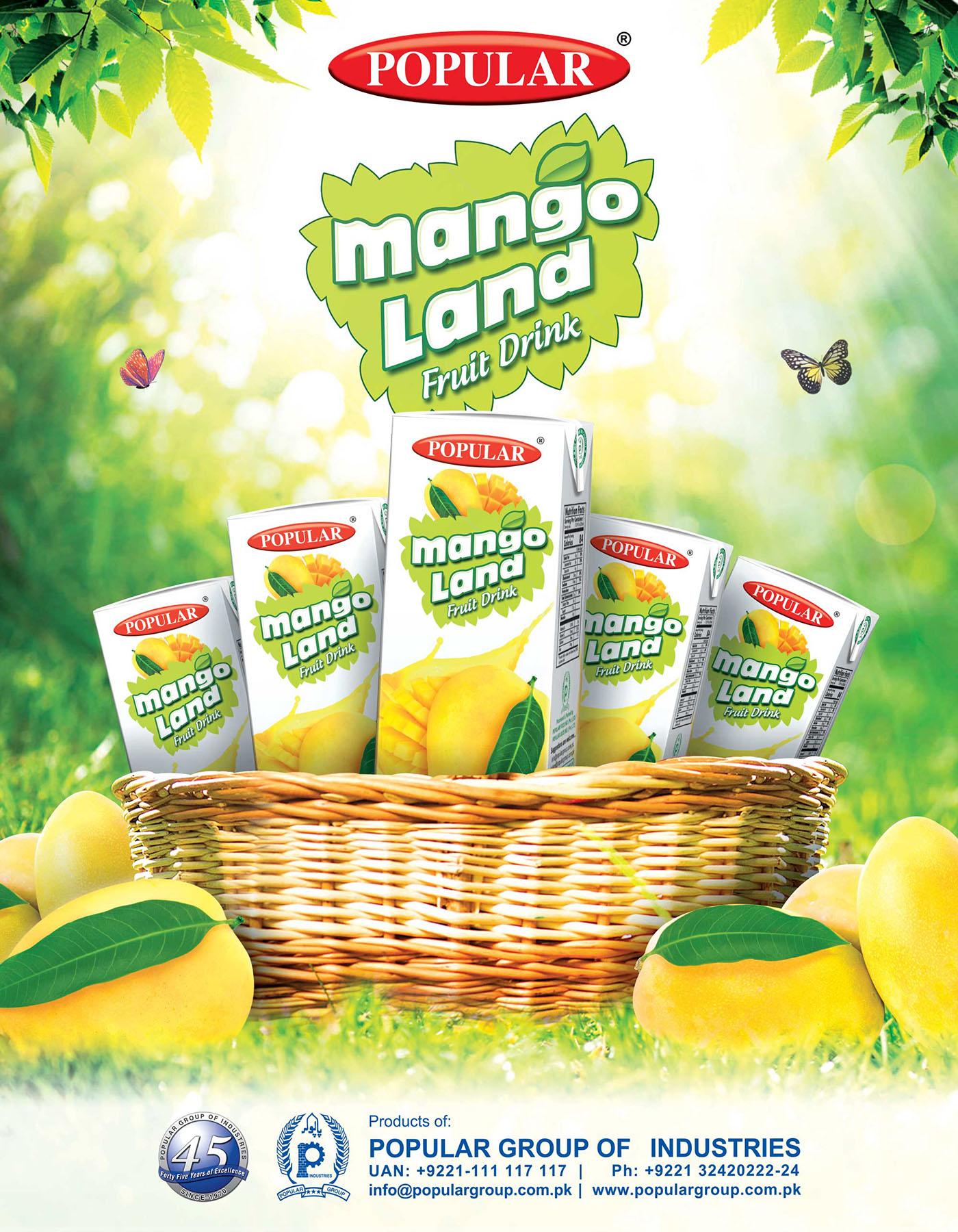 Mango land Poster on Behance