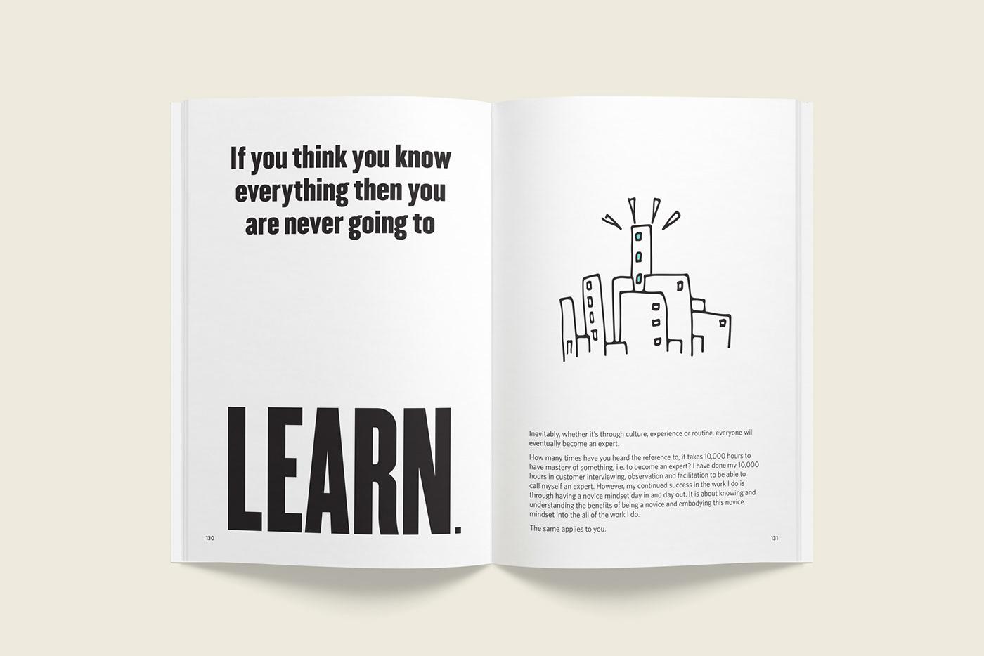 graphic design  print design  publication design typography   bold minimum