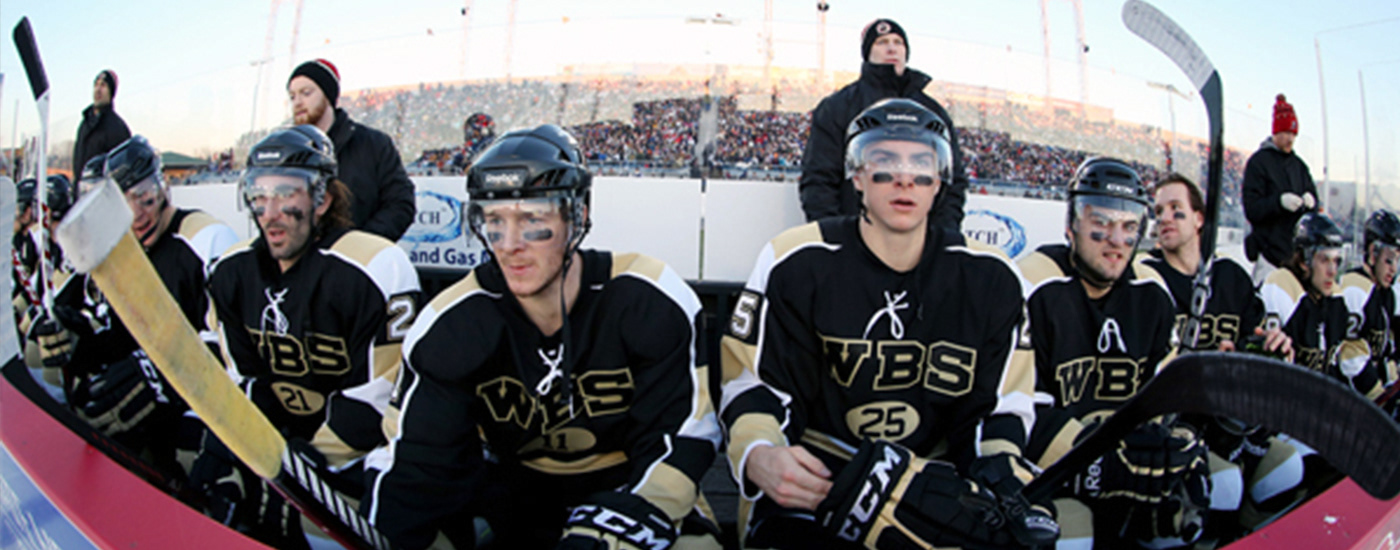 AHL penguins WIlkes-Barre Pittsburgh Penguins NHL AHL Outdoor Classic hockey wbs penguins winter classic Outdoor Classic