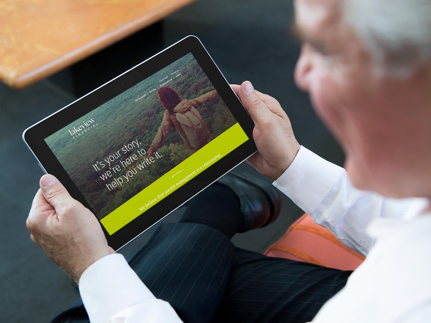 Financial Services interactive wordpress