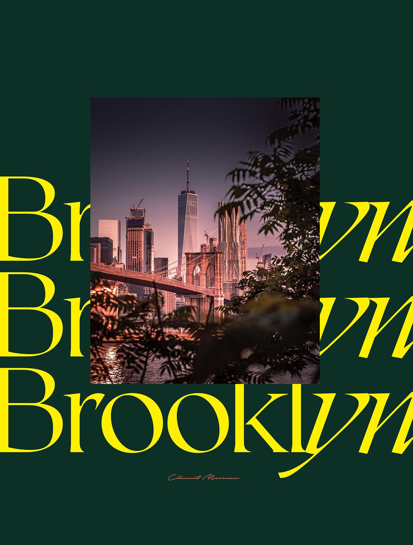 bridge Brooklyn dark drama fujifilm New York night Street sunset Urban