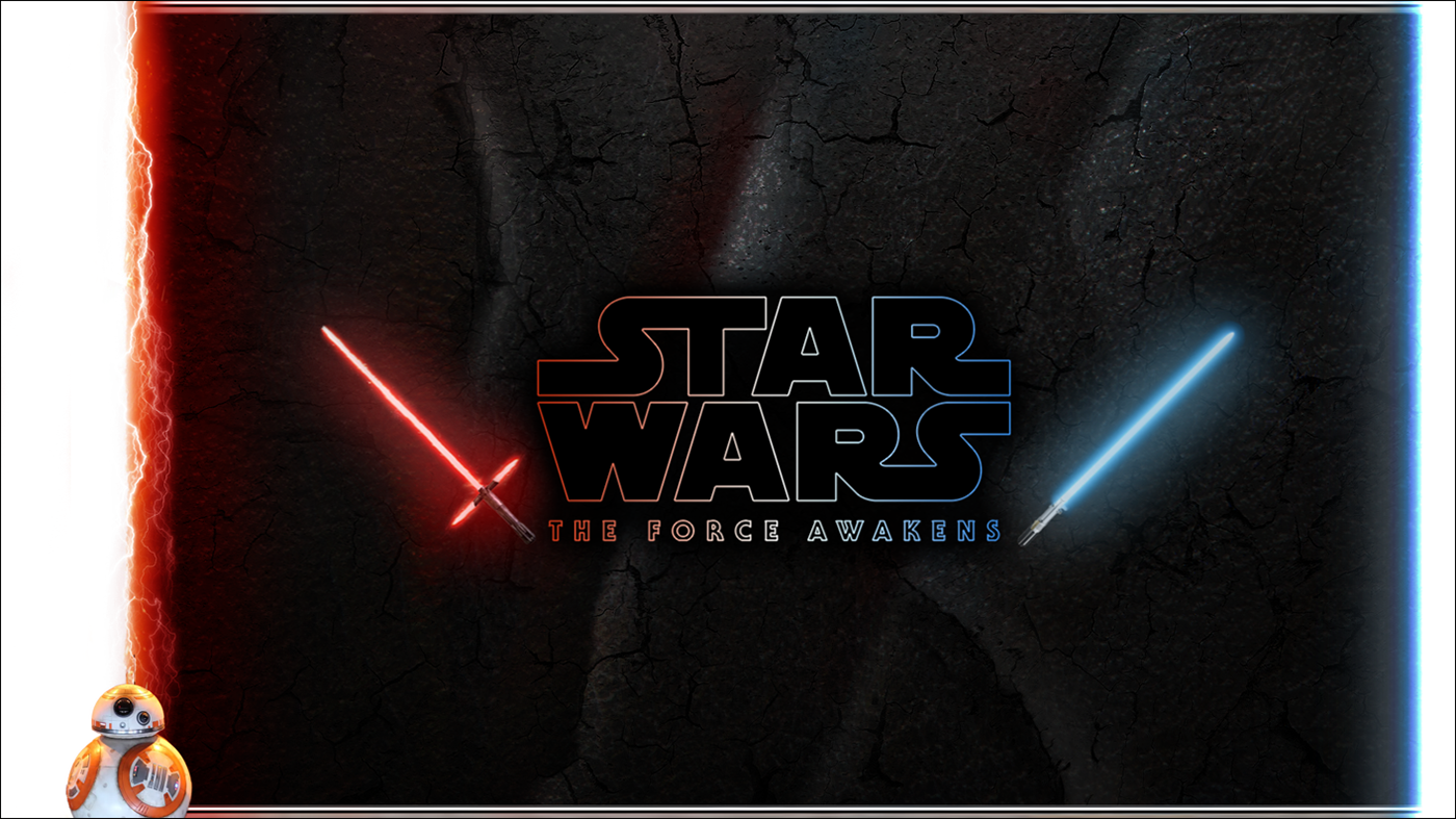 star wars force awakens powerpoint template on behance