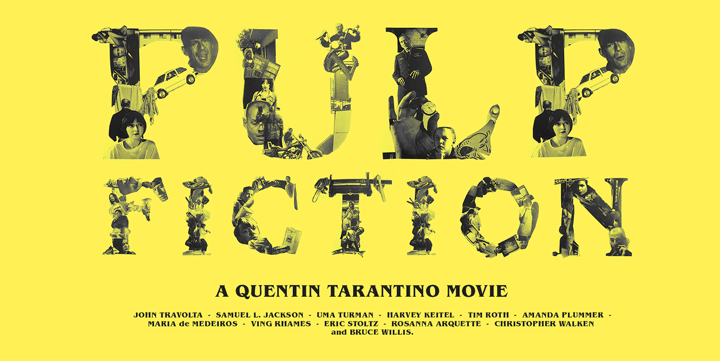pulp fiction thesis Violence in film is a serious matter, and for some people an inexcusable offense they can see no justification for the scene in which john travolta's character.