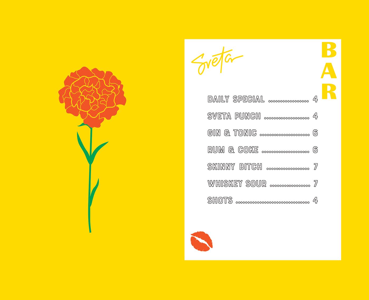 bar cafe Food  drink branding  logo graphic design  identity Estonia menu