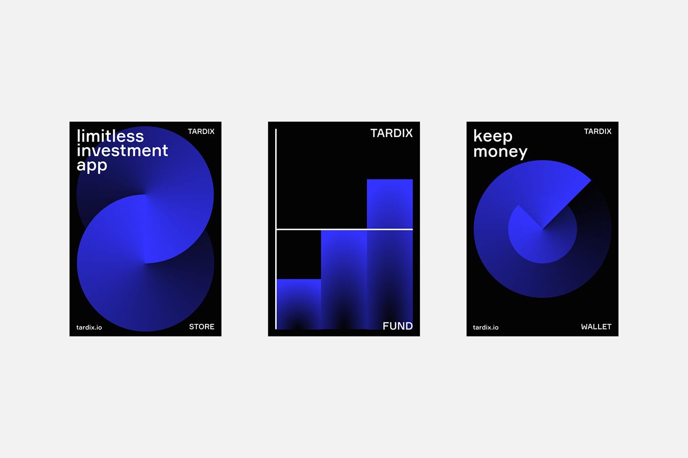 crypto blockchain bitcoin Web branding  identity black Ico animation  finance