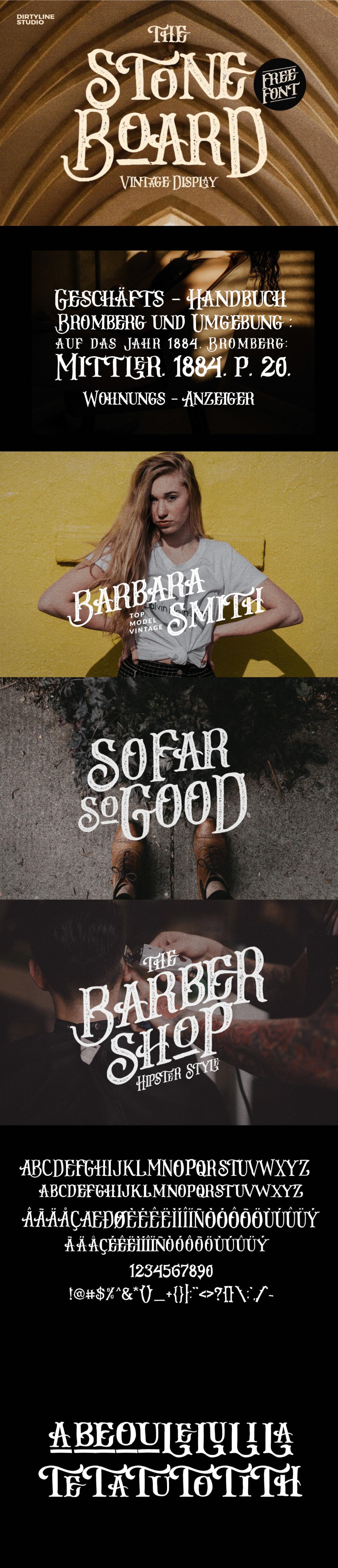 Display font free freebie logo poster serif Typeface vintage