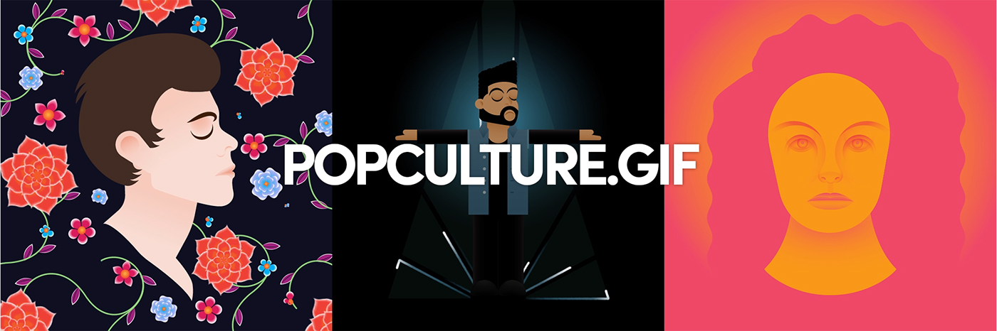 music gif art pop culture animation  giphy adobeawards