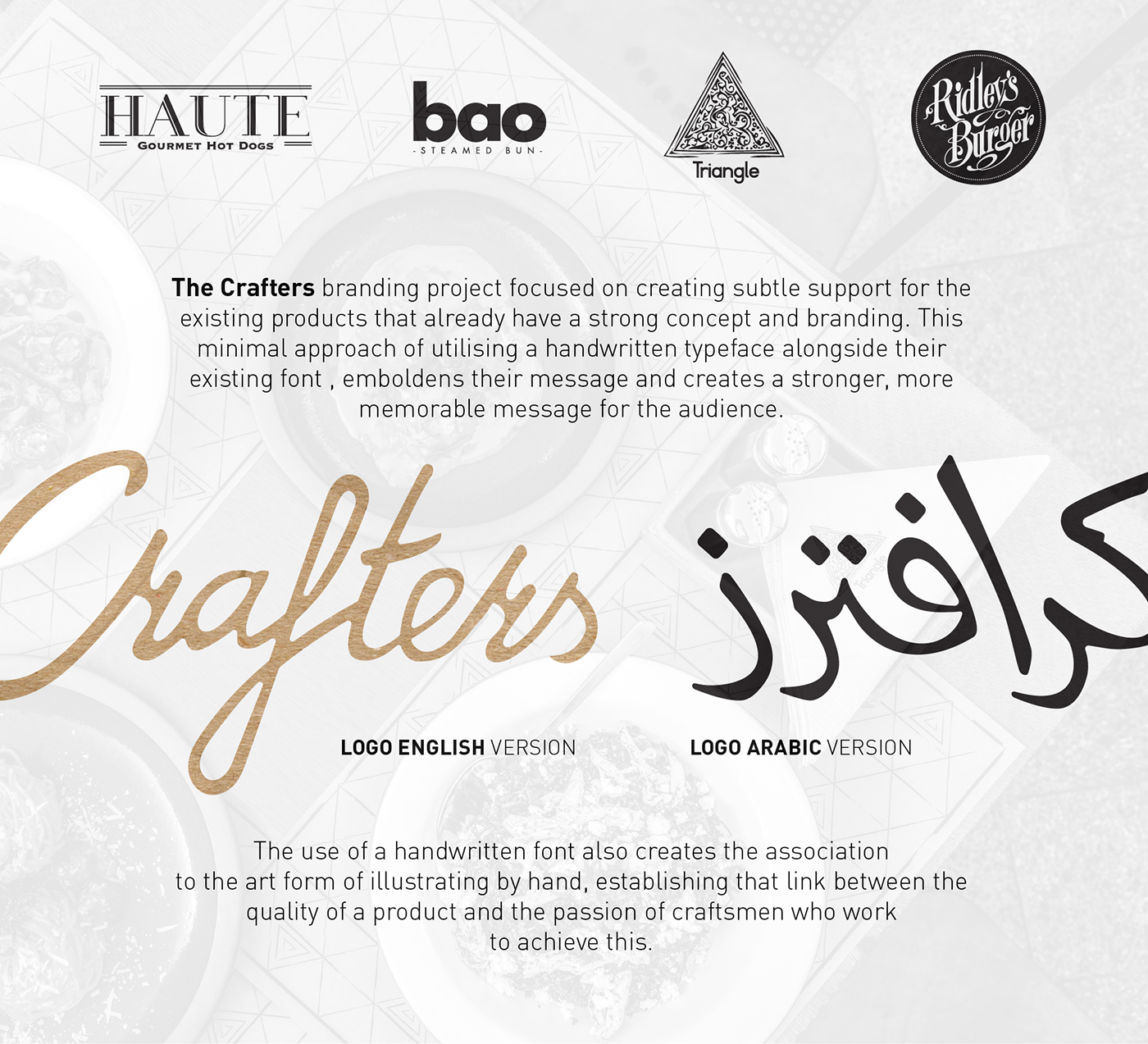 The Crafters | F&B Group Branding on Behance