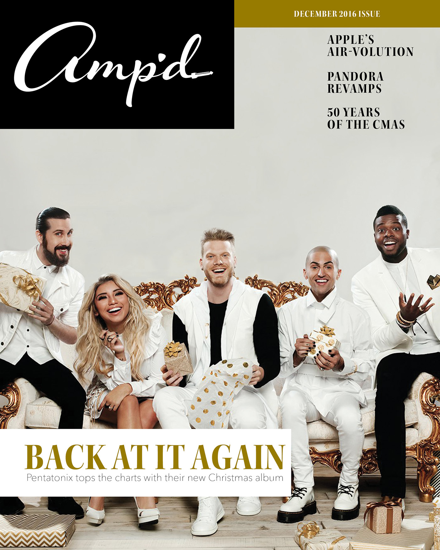 Amp\'d Magazine on Behance