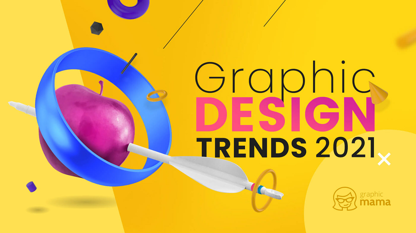 Graphic Design Trends 2021 On Behance