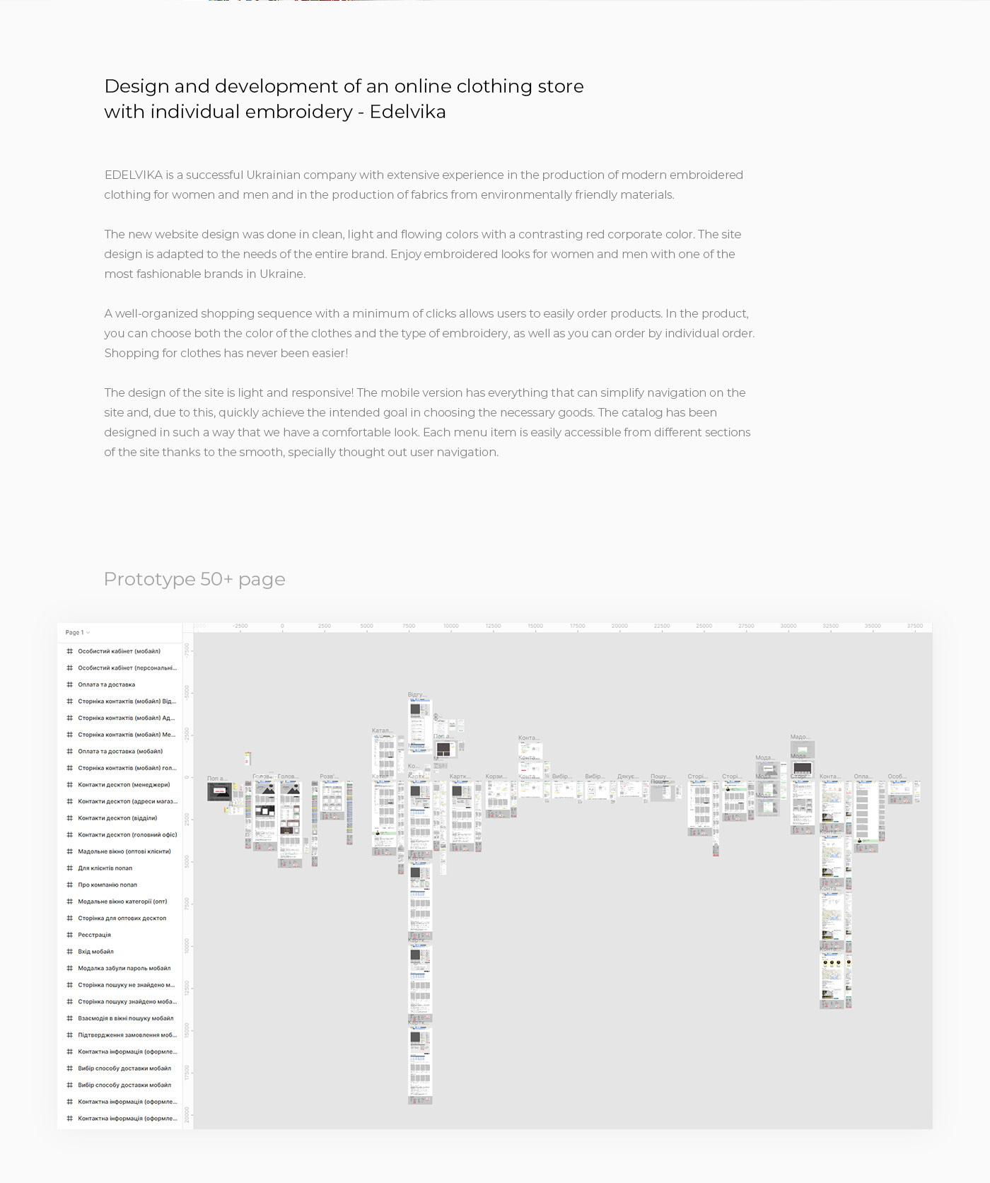 design e-commerce online-store shop UI ux Web интернет-магазин онлайн Fashion