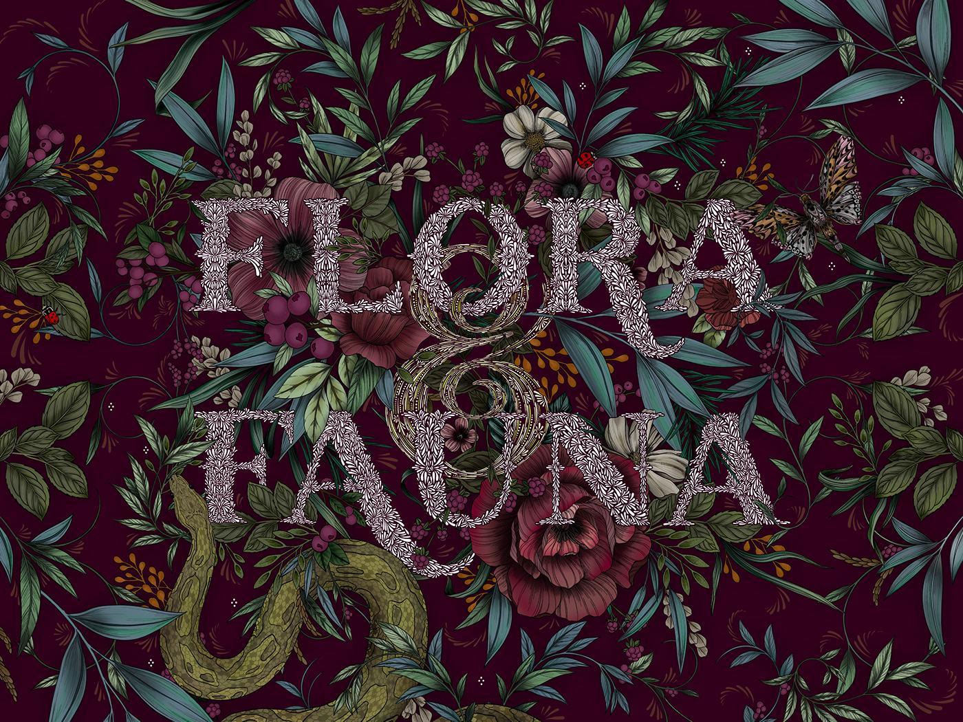 Flora Fauna For Procreate On Behance