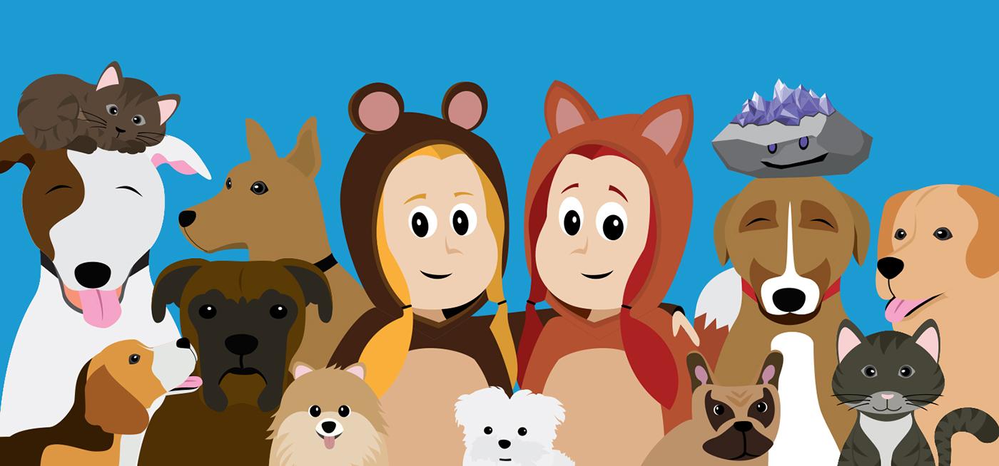 book design definitive guide eBook design ILLUSTRATION  pets Illustrated Ebook vector art vector ebook