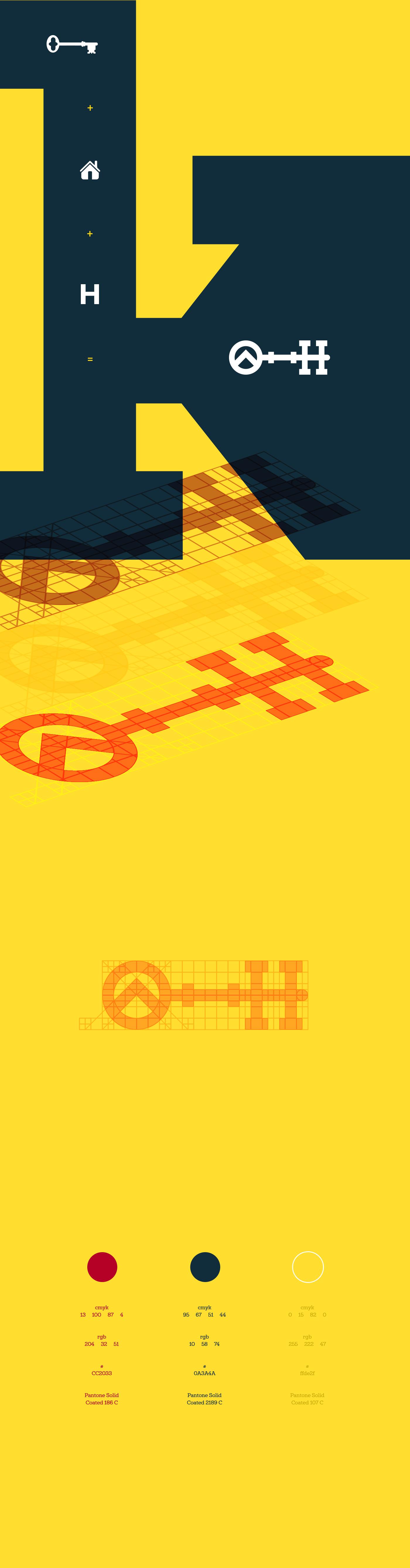 brand logo design Logotipo Logo Design grid identity Logotype architecture construction