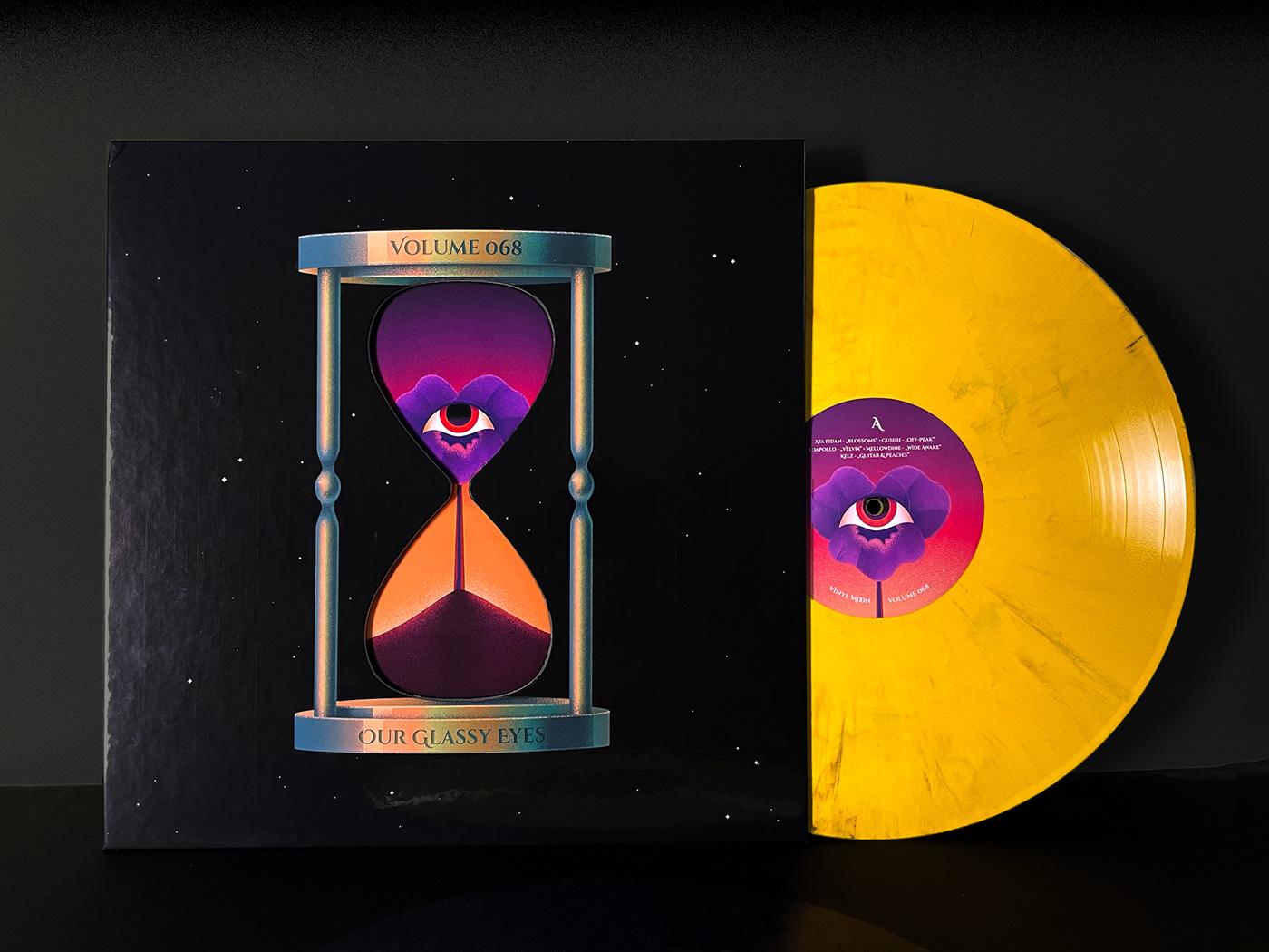 album cover clockwork cover eyes Gear mixtape music surreal vinyl Vinyl Cover